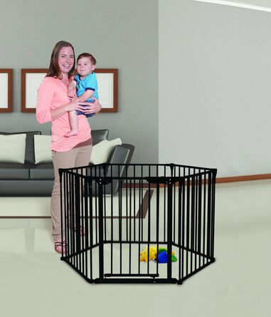 Dreambaby Mayfair Converta 3-in-1 playpen / grondbox | Zwart