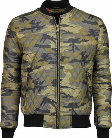 Y chrom Casual jack army stitched bomber jack