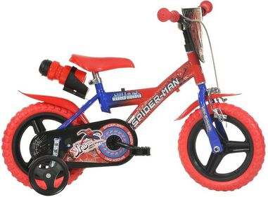 Dino Bikes Kinderfiets Spiderman 12 Inch