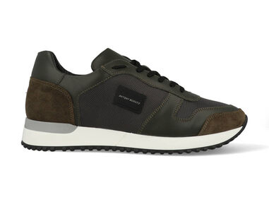 Antony Morato Sneakers mmfw01219-le500019 military green groen