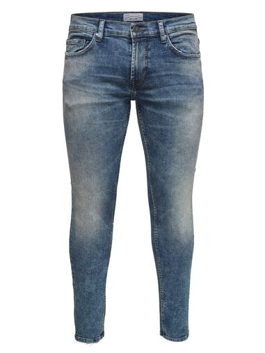 ONLY & SONS Skinny jeans Warp washed