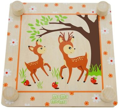 Mamamemo bloemenpers Forest Friends 20 x 20 cm