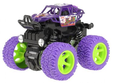 Toi-Toys truck paars 10 cm