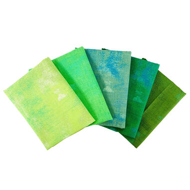 Grunge | Fat Quarter Pakket | Lime Groen