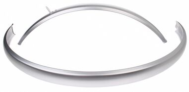 spatbordenset CR18A 28 inch 50 mm staal zilver