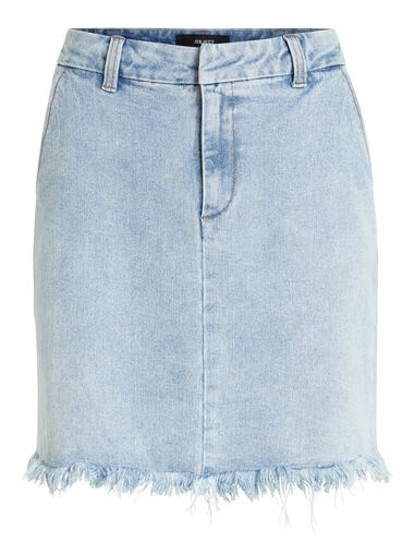 OBJECT Denim rok Ruche