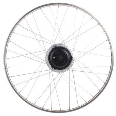 achterwiel 26 inch Nuvinci staal 36G zilver