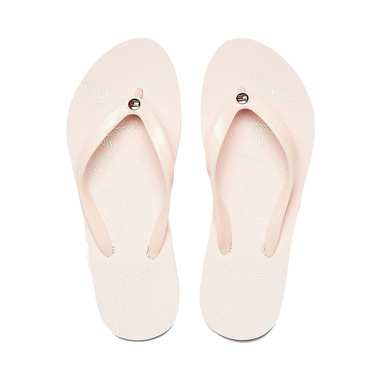 Tommy Hilfiger dames teenslippers - pale pink