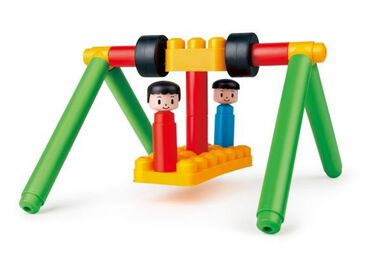 PolyM Adventure Playground Kit bouwblokken 113-delig