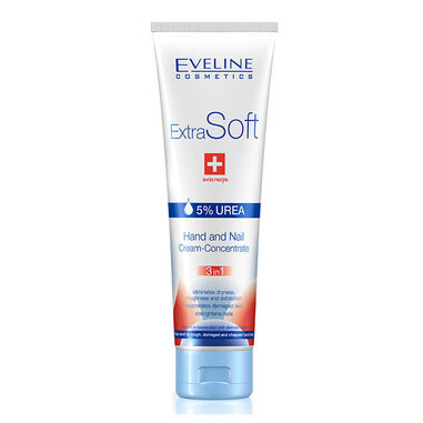 Eveline Cosmetics Extra Soft Hand And Nail Cream-concentrate 3 In 1 - 100ml.