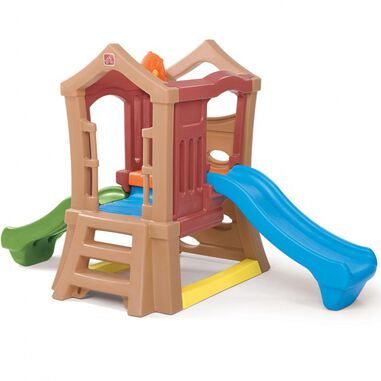 Step2 speeltoestel Play Up double slide climber 249 cm