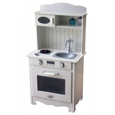 Sunny kinderkeuken Country Kitchen 92 cm wit
