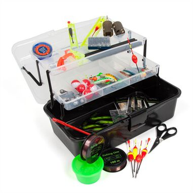 Eurocatch Fishing Viskoffer Gevuld