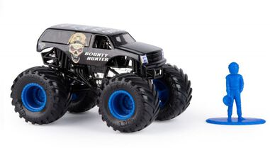 Spin Master Monster Jam monstertruck Bounty Hunter 10 cm zwart