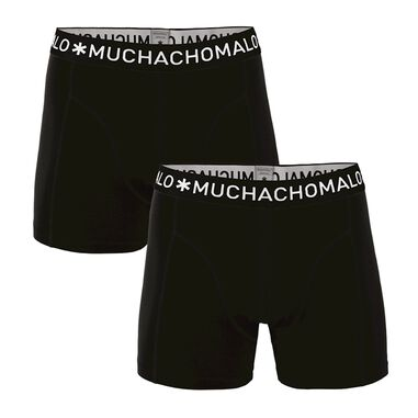 Muchachomalo Boys 2 pack boxer solid/solid