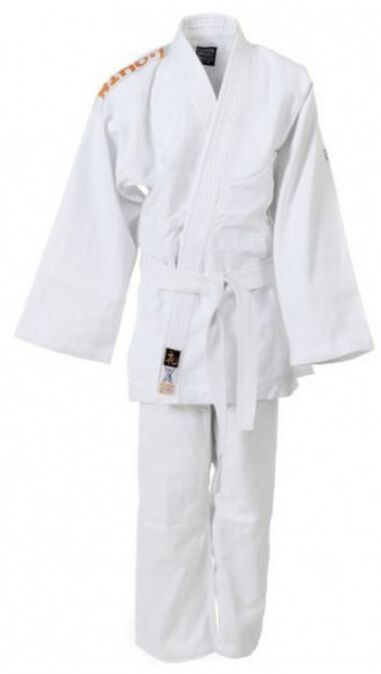 Judopak Rei junior wit maat