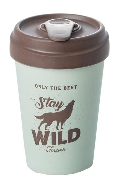 Chic.Mic drinkbeker BambooCUP* Stay Wild 400 ml
