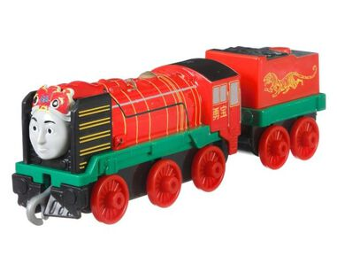Fisher-Price Thomas & Friends - Yong Bao 8 cm rood