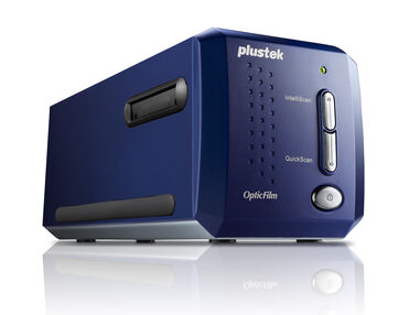Plustek OpticFilm 8100 Film/dia 7200 x 7200DPI Blauw