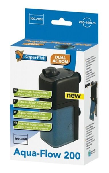 Aqua-Flow 200 aquariumfilter