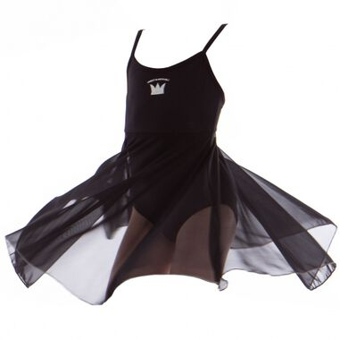 ballettop Leotard Sweet & Adorable meisjes zwart