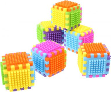 Johntoy blokkenset Click&Matchblocks