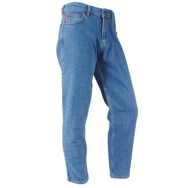Catch heren jeans stretch lengte 32 light denim blauw