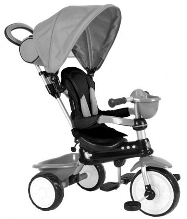 Comfort 4-in-1 driewieler Junior Grijs