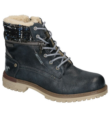 Mustang Blauwe Boots