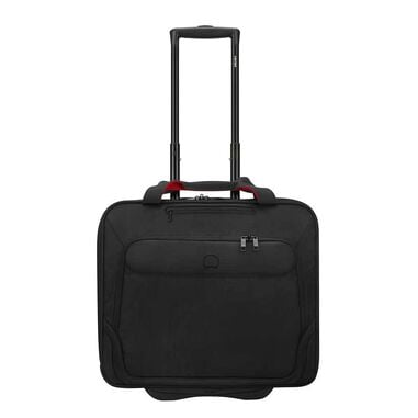 """Delsey Parvis Two Compartment Trolley Boardcase 17"""" black"""