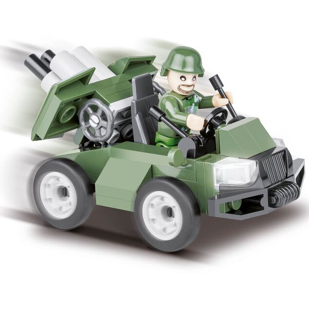 Cobi Small Army Battalion Support Vehicle bouwset 60-delig 2152