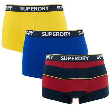 Superdry - trunks 3-pack multi - S
