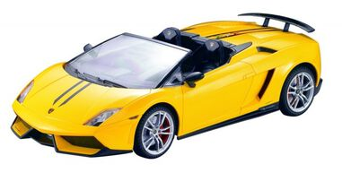 Cartronic RC Lamborghini Gallardo Spyder Performante geel 1:14