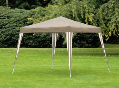 Partytent 3 x 3 Meter Taupe-Wit