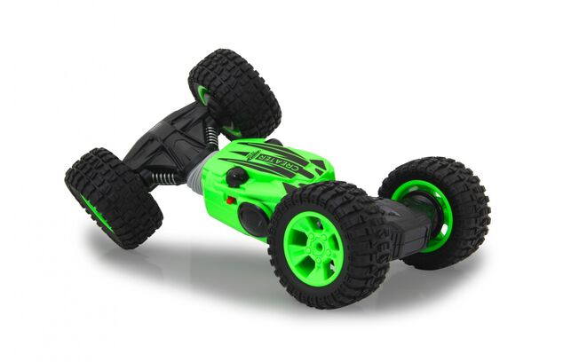 Jamara stuntwagen RC Transformer Li-ion junior 2,4 GHz groen/zwart