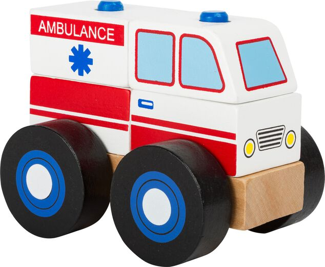 Small Foot Ambulance bouwvoertuig