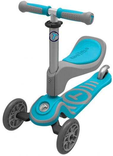 Scooter T1 step Junior Blauw