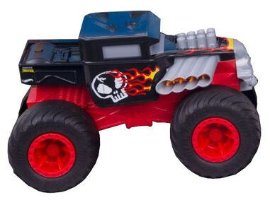 Hot Wheels monstertruck Double Troubles 20 cm rood
