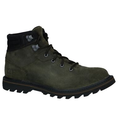 Caterpillar Exigent Olijfgroene Bottines