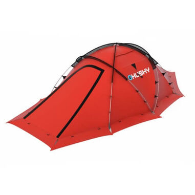 Husky Fighter Extreme 3-4 - lichtgewicht tent - 3-4 persoons - Rood