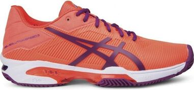 tennisschoenen Gel-Solution Speed 3 Clay dames oranje maat