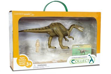 Collecta prehistorie: Baryonyx Deluxe Window Box 28 cm groen