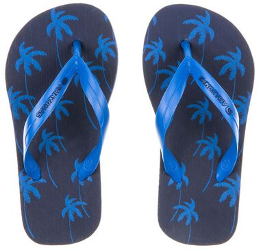 Amazonas Navy/kobalt kinderslippers enjoy coconut junior blauw