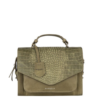 Burkely Croco Cody Citybag light green
