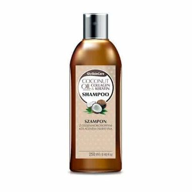 GlySkinCare Coconut Oil Shampoo 250ml.