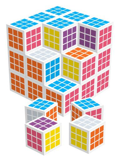Cube by Cube 30 mm 27 blokjes