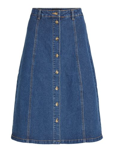 OBJECT Denim rok High-waist