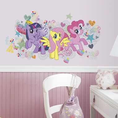 Muursticker My Little Pony RoomMates