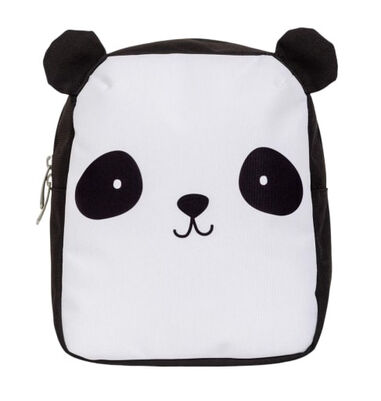 A Little Lovely Company rugzak Panda junior 5,5 liter polyester zwart/wit