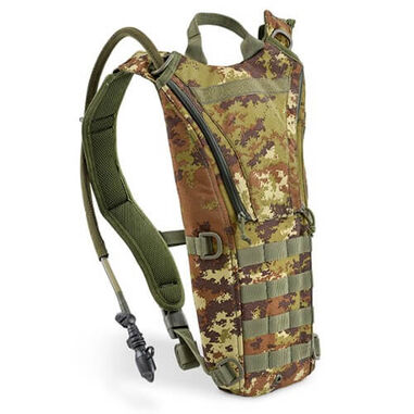 Defcon 5 waterzak Hydropack Backpack 3 liter - Camo Vegetato Italiano